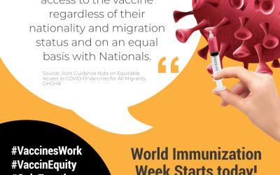 BEBESEA's Campaign for World Immunization Week